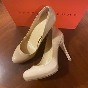 Ivanka Trump Nude Stiletto Pump 8.5 B